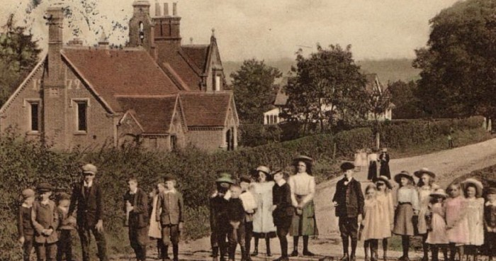 Northaw School in 1914